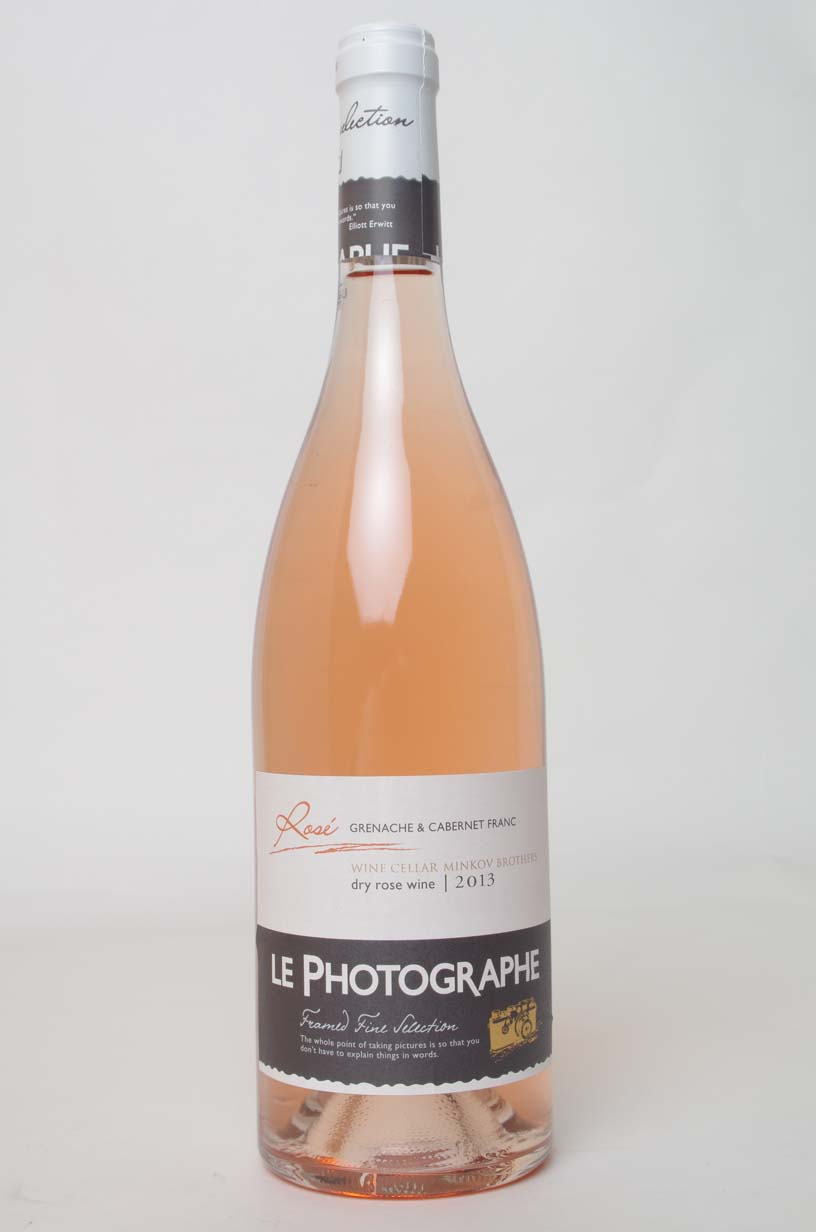 LE PHOTOGRAPHE ROSE 0.75L