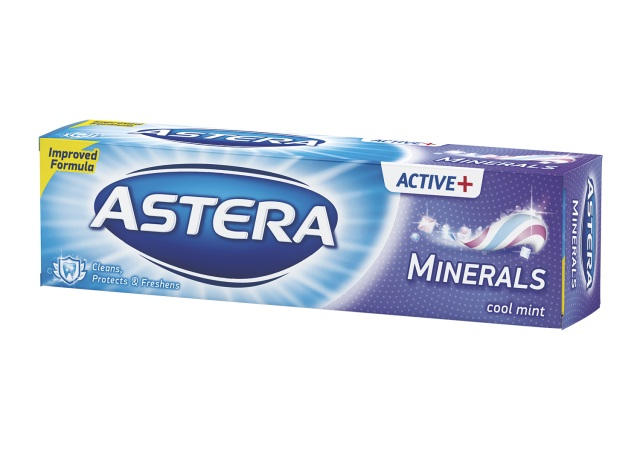ASTERA DENTIFRICE ACT.ET MINERAL 100 ML