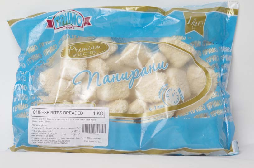 PRIMO FROMAGE PANE NUGGETS 1KG