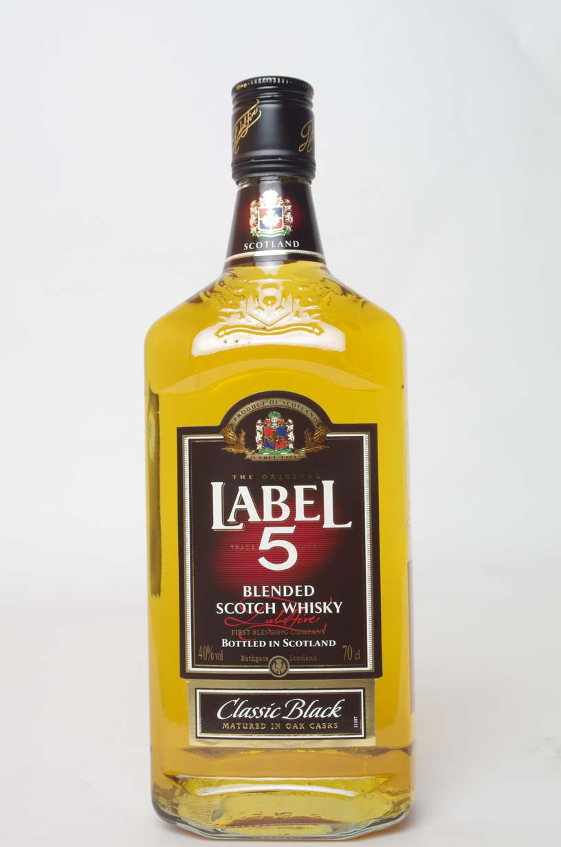 WHISKY LABEL 5 0.7L