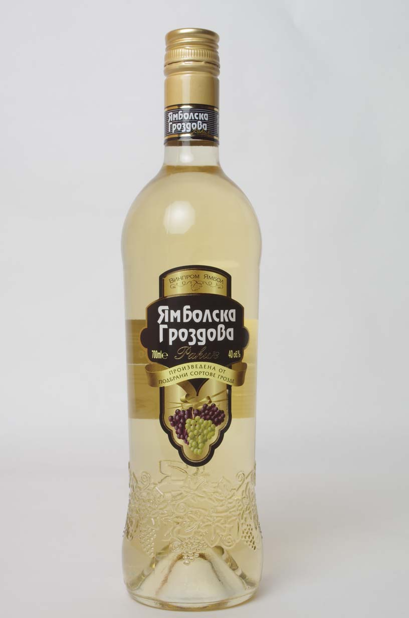 YAMBOLSKA GRAPE RAKIA 700 ML
