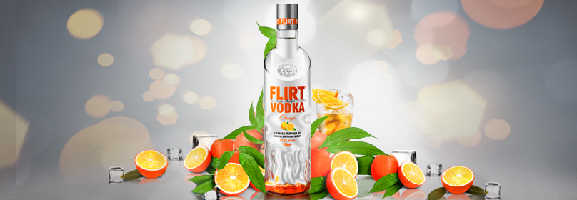 FLIRT VODKA  ORANGE 700ML