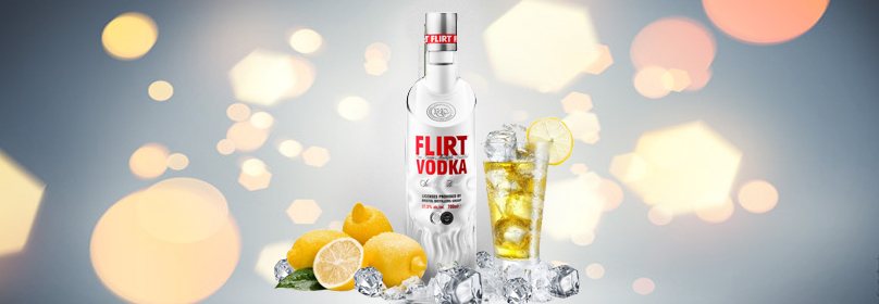 FLIRT VODKA CITRON  1000ML