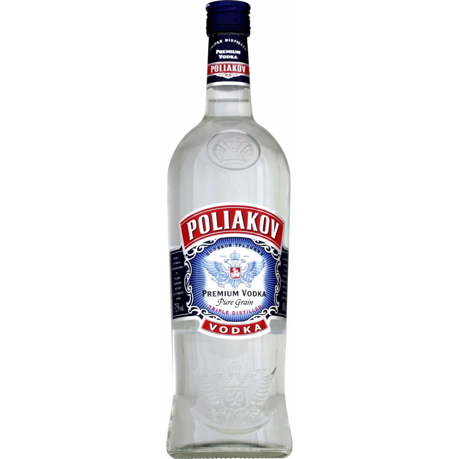 VODKA POLIAKOV 37.5VOL 0.700ML
