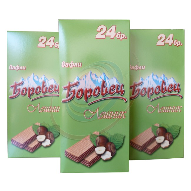 BOROVETS  WAFER NOISETTE  24 PSC