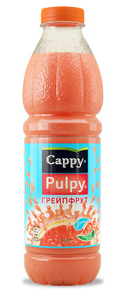 CAPPY  PULPY  PAMPLEMOUSSE 330 ML