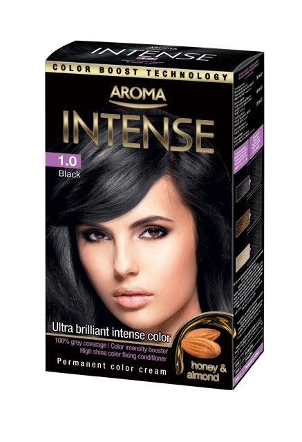 AROMA  INTENSE COLOR N:1.0 50 ML NOIRE