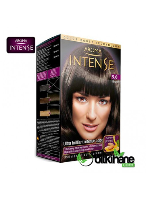 AROMA  INTENSE COLOR N:5.0 50 ML V1 BROWN
