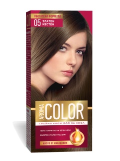 AROMA COLOR POUR CHEVEUX 05 45 ML GOLDEN CHESTNUT