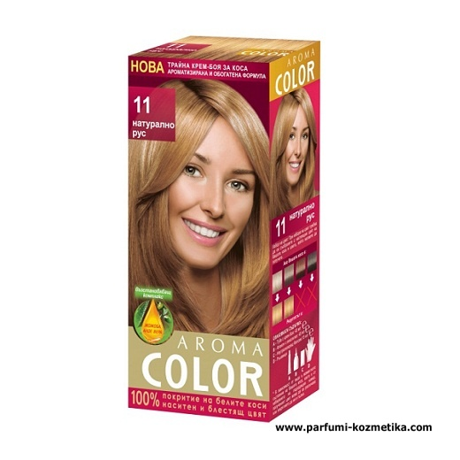AROMA COLOR POUR CHEVEUX 11 45 ML  NATURAL BLOND