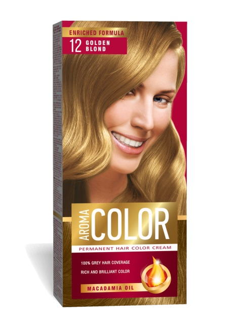 AROMA COLOR POUR CHEVEUX 12 45 ML GOLDEN BLOND