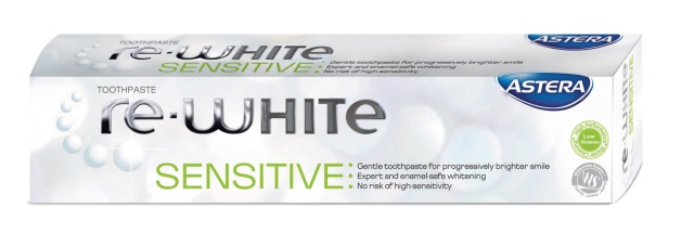 ASTERA DENTIFRICE RE-WHITE SENSITIV 75 ML V 2