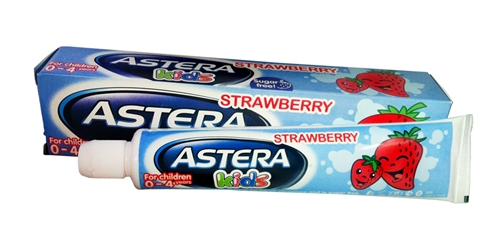 ASTERA DENTIFRICE KIDS STRAWBERRI 50 ML