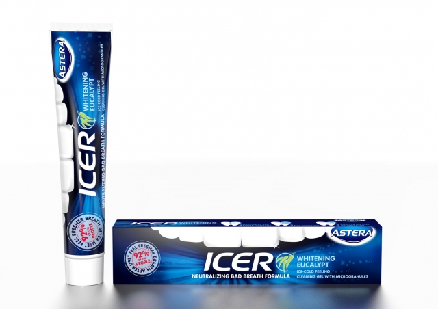 ASTERA DENTIFRICE ICER WHITENING 75 ML