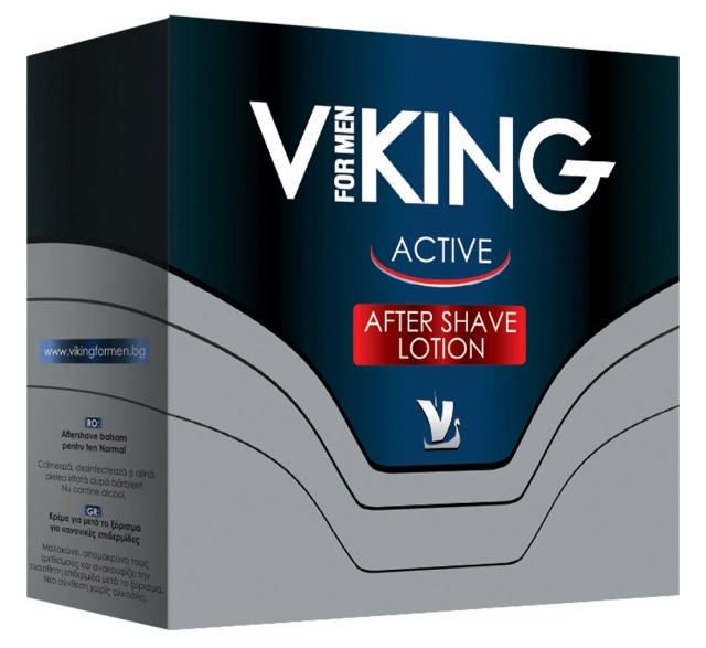 AROMA VIKING AFTER SHAVE LOTION ACTIVE 100ML