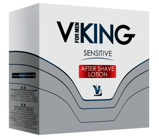 AROMA  VIKING AFTER SHAVE LOTION SENSITIVE  100ML