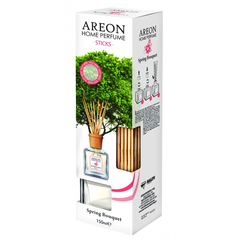 AREON HOME PERFUME STICKS 150ML SPRING BOUQUET