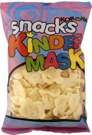 "KORONA SNACKS ""KINDER MASK"" 50G"